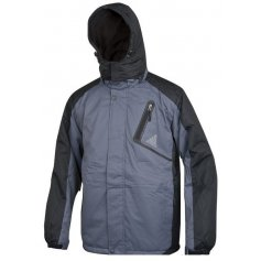 Pánska zimná bunda YORK, sivo-čierna