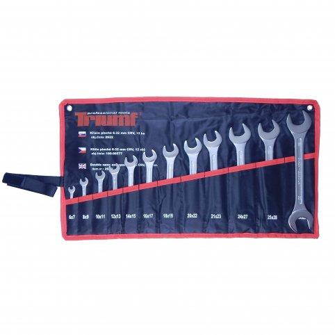 Sada vidlicových kľúčov, 12 dielna 6-32 mm, Triumf