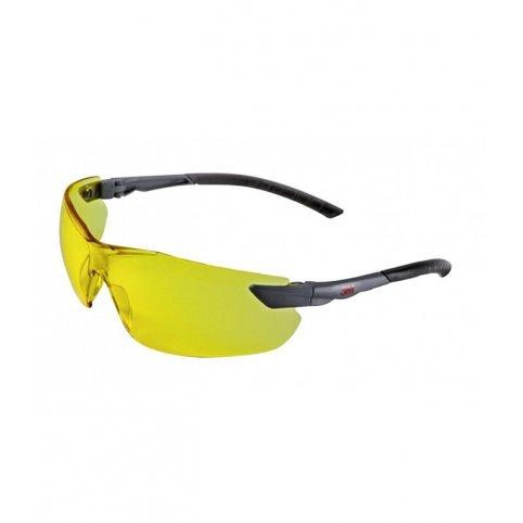 Ochranné okuliare 3M 2822, žltý zorník