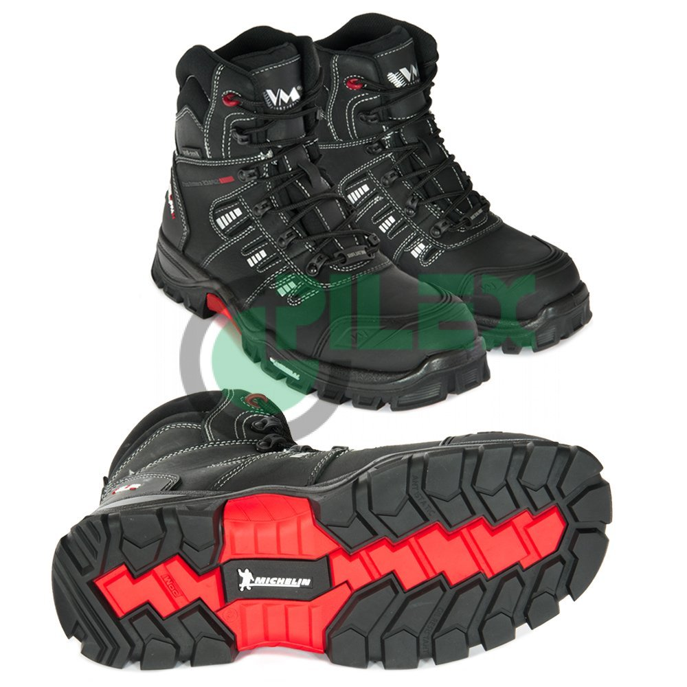 da77c500c Poloholeňová obuv s kompozitnou špicou VM Portland 7190-S3