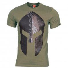 Krátke tričko Eternity Olivové, Pentagon