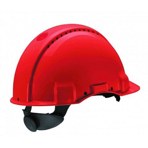 Ochranná prilba 3M G3000, červená