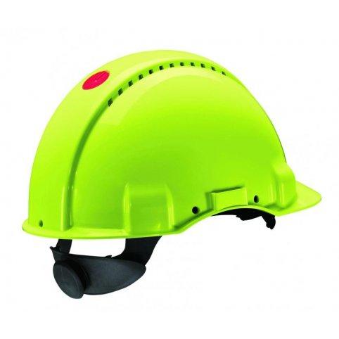 Ochranná prilba 3M G3000, fluorescenčná
