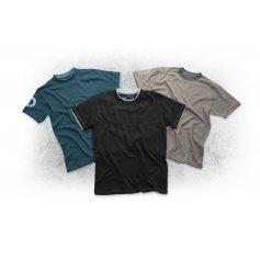 Tričko s krátkym rukávom 4TECH, čierne