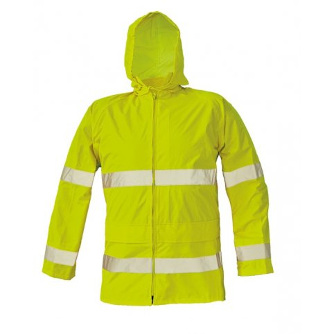 Hi-Vis nepremokavá bunda GORDON, žltá