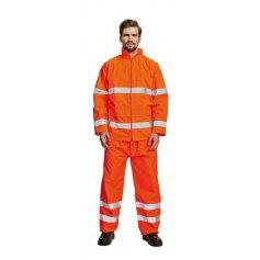 Hi-Vis nepremokavá bunda GORDON oranžová