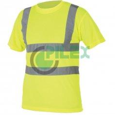 Tričko Hi-Vis s reflexnými pruhmi S478, žlté
