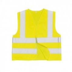 Detská reflexná vesta JUNIOR JN14, žltá