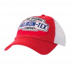 Šiltovka Trucker Logo červená, Helikon-Tex