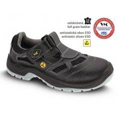 Sandále BERN S S1 ESD, čierne