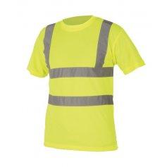 Tričko REF 101 Hi-Vis s reflexnými pruhmi, žlté