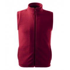 Fleecová vesta NEXT 518, malboro červená