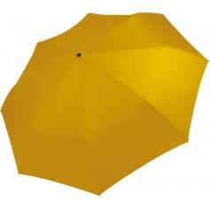 Dáždnik KI-MOOD 2010 skladací, žltý