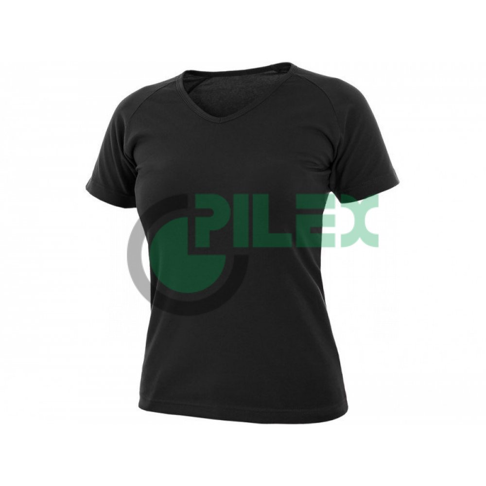 088cc29ec Dámske tričko s krátkym rukávom ELLA, čierne