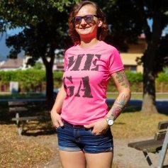 Dámske tričko MEGA ružové, Liptáci