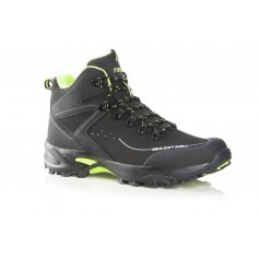 Členková softshellová obuv CROSS, čierno-zelená