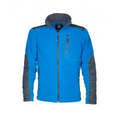 Pánska fleecová mikina 4TECH, modrá