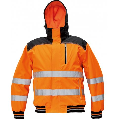 Zimná bunda Knoxfield Hi-Vis Pilot, oranžová