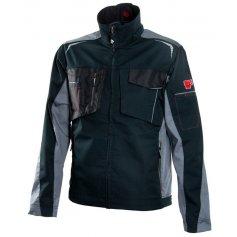 Monterková bunda R8ED+, čierno sivá