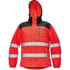 Knoxfield Hi-Vis zimná bunda, červená