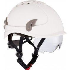 Prilba AlpinWorker s ventiláciou, biela
