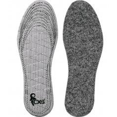 Vložka do obuvi zateplená s hliníkovou fóliou, strihacia