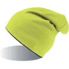 Obojstranná strečová čiapka ATLANTIS EXTREME, žlto-čierna