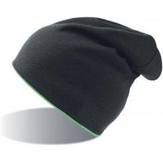 Obojstranná strečová čiapka ATLANTIS EXTREME, čierno-zelená