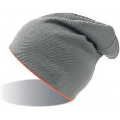 Obojstranná strečová čiapka ATLANTIS EXTREME, sivo-oranžová