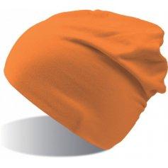 Dlhá elastická čiapka ATLANTIS FLASH, oranžová