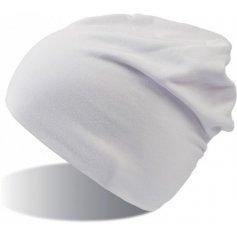 Dlhá elastická čiapka ATLANTIS FLASH, biela