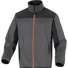 Pánska bunda/sveter Beaver, sivo-oranžový