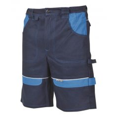 Monterkové kraťasy COOL TREND, tm.modré-sv.modré
