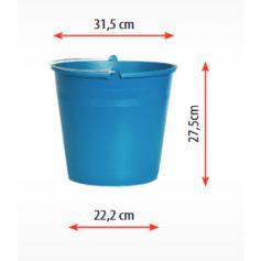 Vedro FLEXI SUPER DURABLE 16L, modré