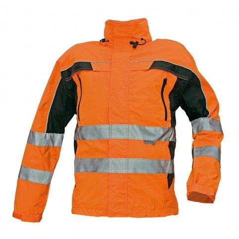 Nezateplená bunda TICINO s reflexnými prvkami, oranžová
