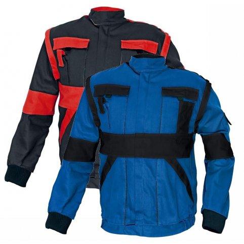 MAX bunda 2 v 1 čierno-červená