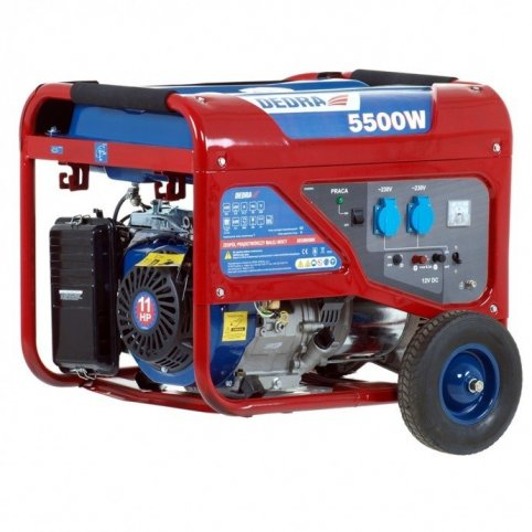 Elektrocentrála - generátor 6000W, Dedra