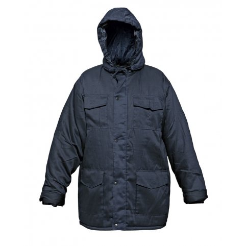 Zateplená bunda BE-02-001, modrá