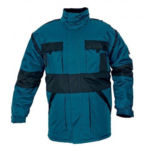 MAX zimná bunda 2 v 1, zeleno-čierna