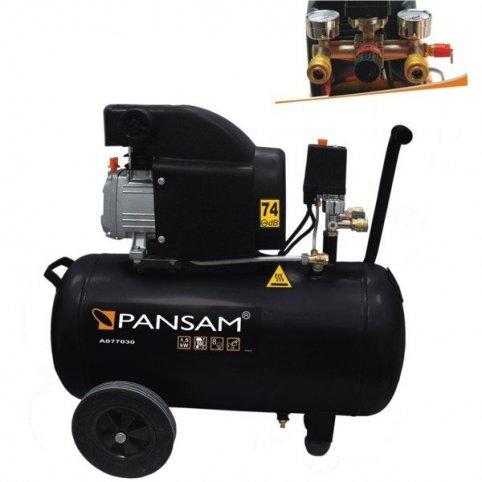 Olejový kompresor 1500W, 8bar ,200l/min, Dedra