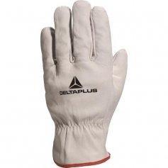 Kožené rukavice FBN49, sivé